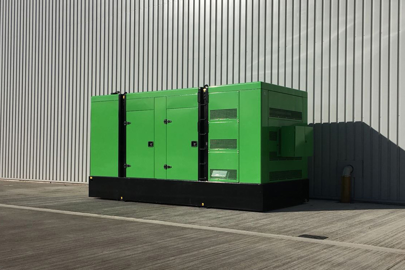 800Kva standby diesel generator located at a logistics warehouse in Coventry