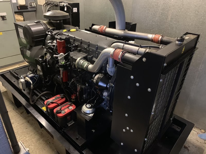 volvo critical backup generator