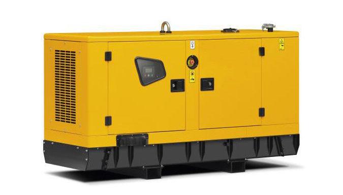JCB diesel generator set