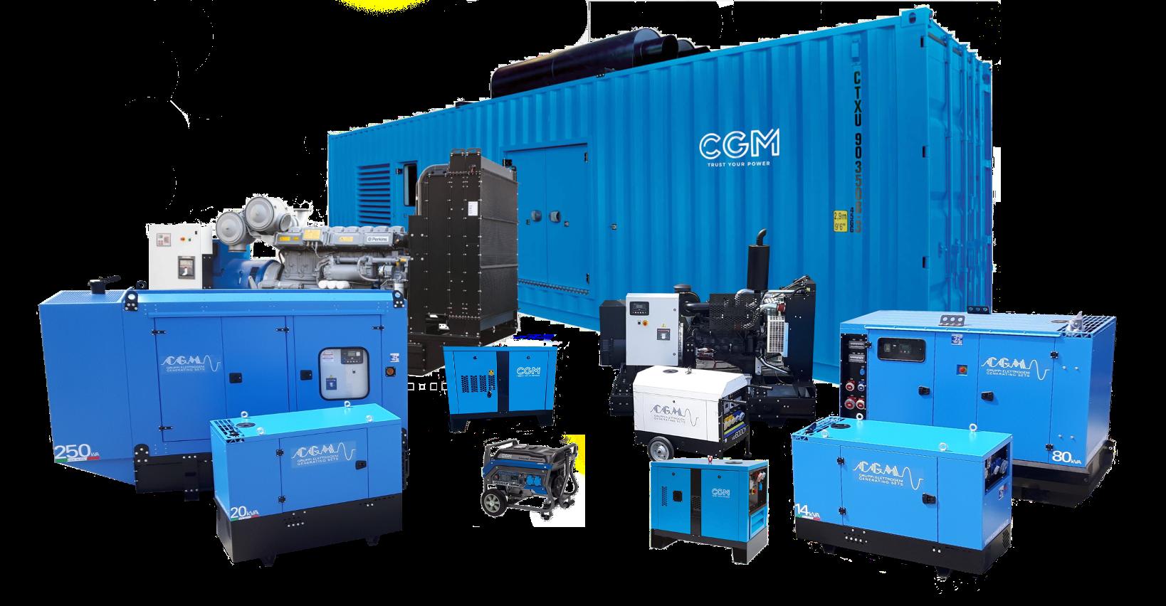 CGM backup generator sales