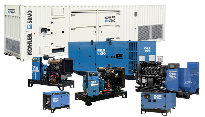 SDMO backup generator sales